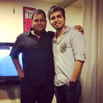 RT @ranjithkg: With my dearest @MusicThaman http://t.co/b2voYbTwIE