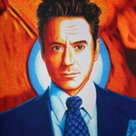 RT @g4danny: @Jon_Favreau thought you might like this picture of RDJ. My nephew drew it using only Sharpie markers.