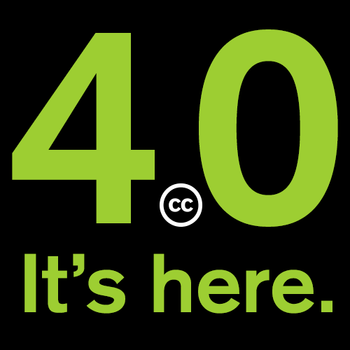 Creative Commons (@creativecommons): Today marks the end of a two-year license upgrade and the beginning of a new era in CC. http://t.co/EM3LZxf6IQ http://t.co/jNn64LtXc4