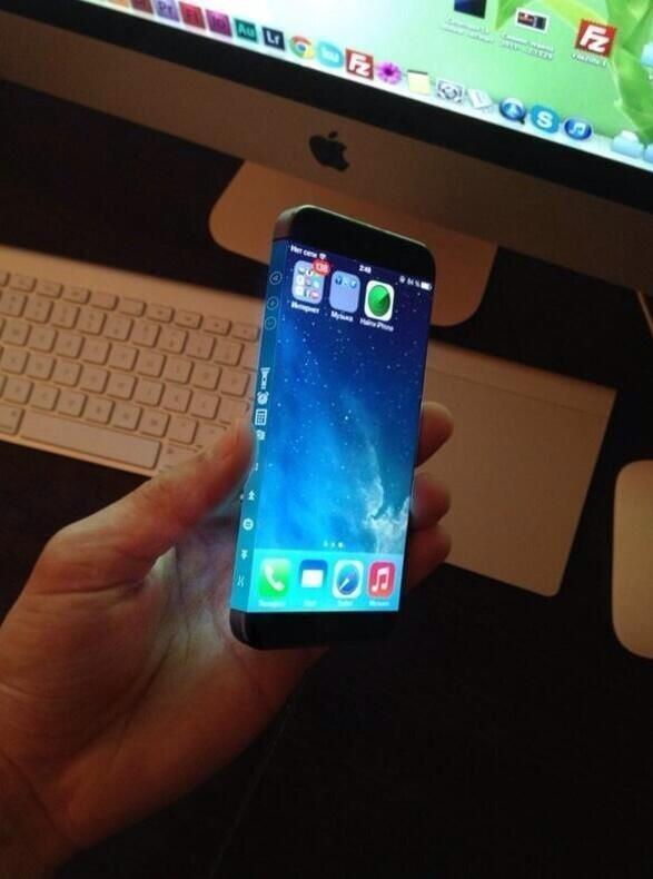 iPhone 6 leaked http://t.co/zIjFTtBo8z