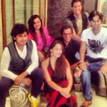 Tonights gonna be a good night @BollyBoomIndia with @sonunigaam @salim_merchant @sulaiman_m @shraddhapandit http://t.co/vScyD6wPQ1