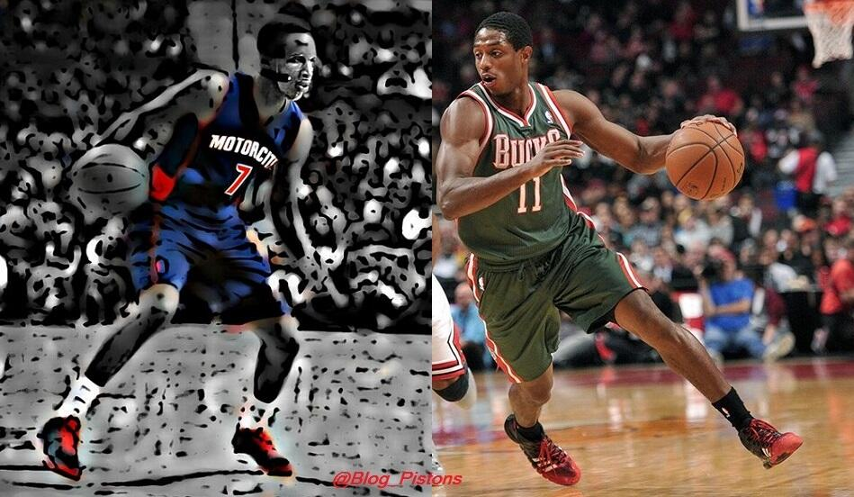 NBA:DETROIT PISTONS: Brandon vs Brandon  || Knight vs Jennings ||  http://t.co/kXxuNobRO8