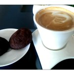 Cappucino and dark choco cookies....:)