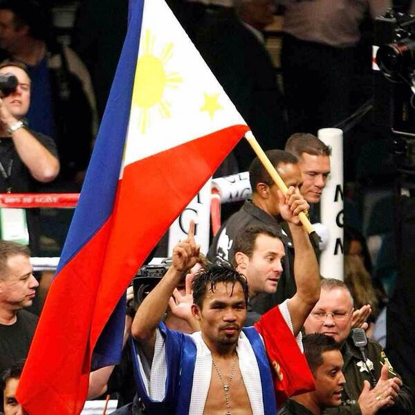 """""""My victory is a symbol of my people's comeback from a natural disaster and a natural tragedy."""" - Pacquiao http://t.co/tEKnwSl3HL"""