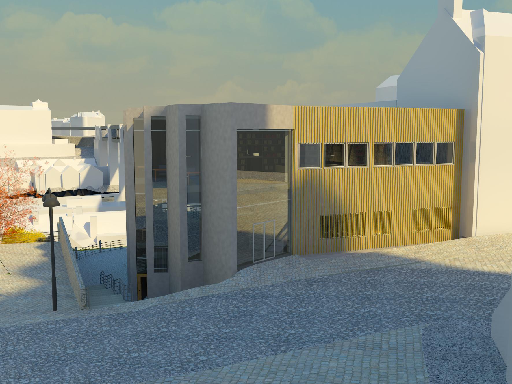 RT @DanielJWright01: An external render of the north-facing façade of my building.  @campusBIM #BIM #REVIT http://t.co/3aojK7CuCe