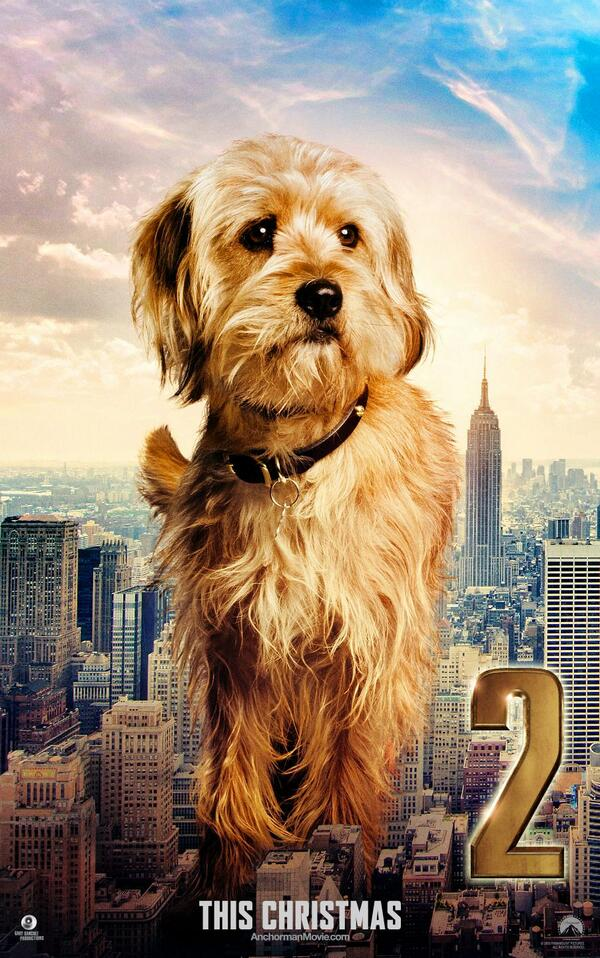 We've got an exclusive first look at the new #Anchorman2 Baxter character poster! http://t.co/4LDKm51Yvz http://t.co/G4tH6AaW8F