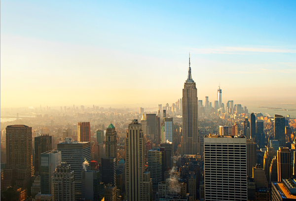 RT @LPTraveller: Pic of the day: the view from 30 Rockefeller Plaza, incl the Empire State Building & 1 World Trade Centre, #NYC, #USA http…