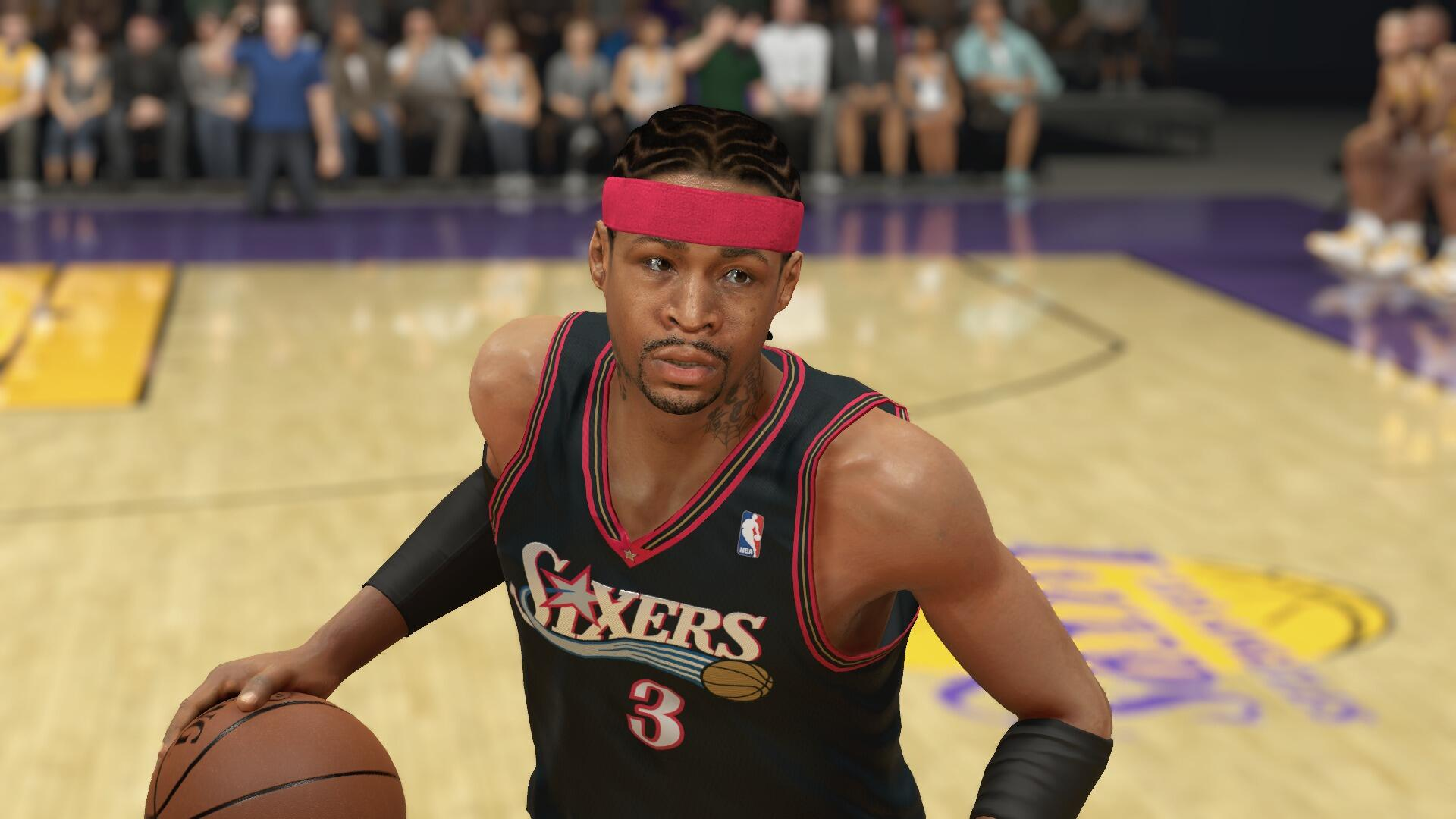 Allen Iverson in next-gen #NBA2K14 #Sixers http://t.co/43hoJ3f6td