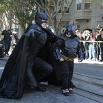 He's the hero Gotham needs. Follow the adventures of #SFBatKid here: http://t.co/DMhLPWBI56 http://t.co/O6yOLDF3mw