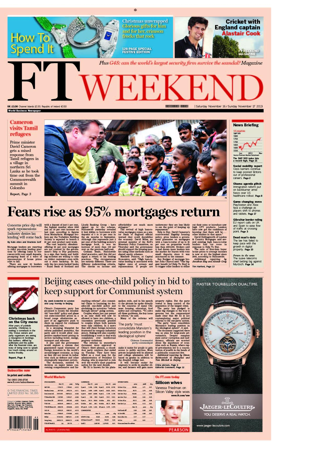Just published: take a look at the UK front page of the Financial Times, Saturday November 16 http://t.co/8Ity83GwLC