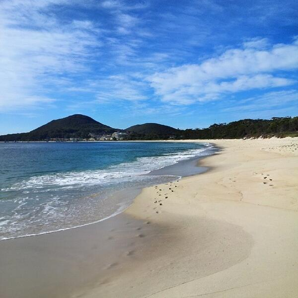 Shoal Bay #Beach in Port Stephens looking very inviting! Lovely shot by @sps50 (via IG) http://t.co/HYXyGRyyws