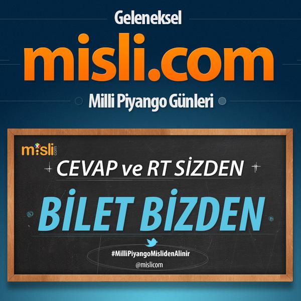 misli.com (@mislicom): @mislicom'dan aldığınız yılbaşı biletine 50 Milyon TL büyük ikramiye çıksa ne yaparsınız? #MilliPiyangoBiletimMislide http://t.co/DwFCAoTZwl