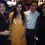 At the book launch of @suchitrak 's #DramaQueen ... With @suchitrak and @nishjamvwal http://t.co/HO0uvpTjQH