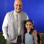 Shot for the new Shiksha Ad. Was delighted to know that Niharika is from Shimla from the same school.:) http://t.co/yRo7pNLWph