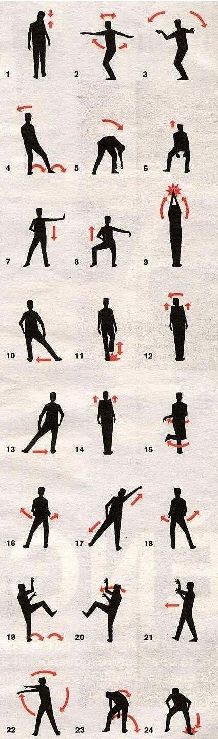 スリラー(マイケル・ジャクソン)の踊り方 http://t.co/Uyz14E3Lka
