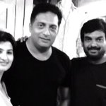 Me with @purijagan and my love @PonyPrakashraj in Goa after dinner. Lovely eve at Thalassa a Greek joint http://t.co/e59QRNoXgP