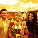 Attended baby shower ceremony today of my dear frnd Nisha n Sachin... God bless dis adorable couple ❤