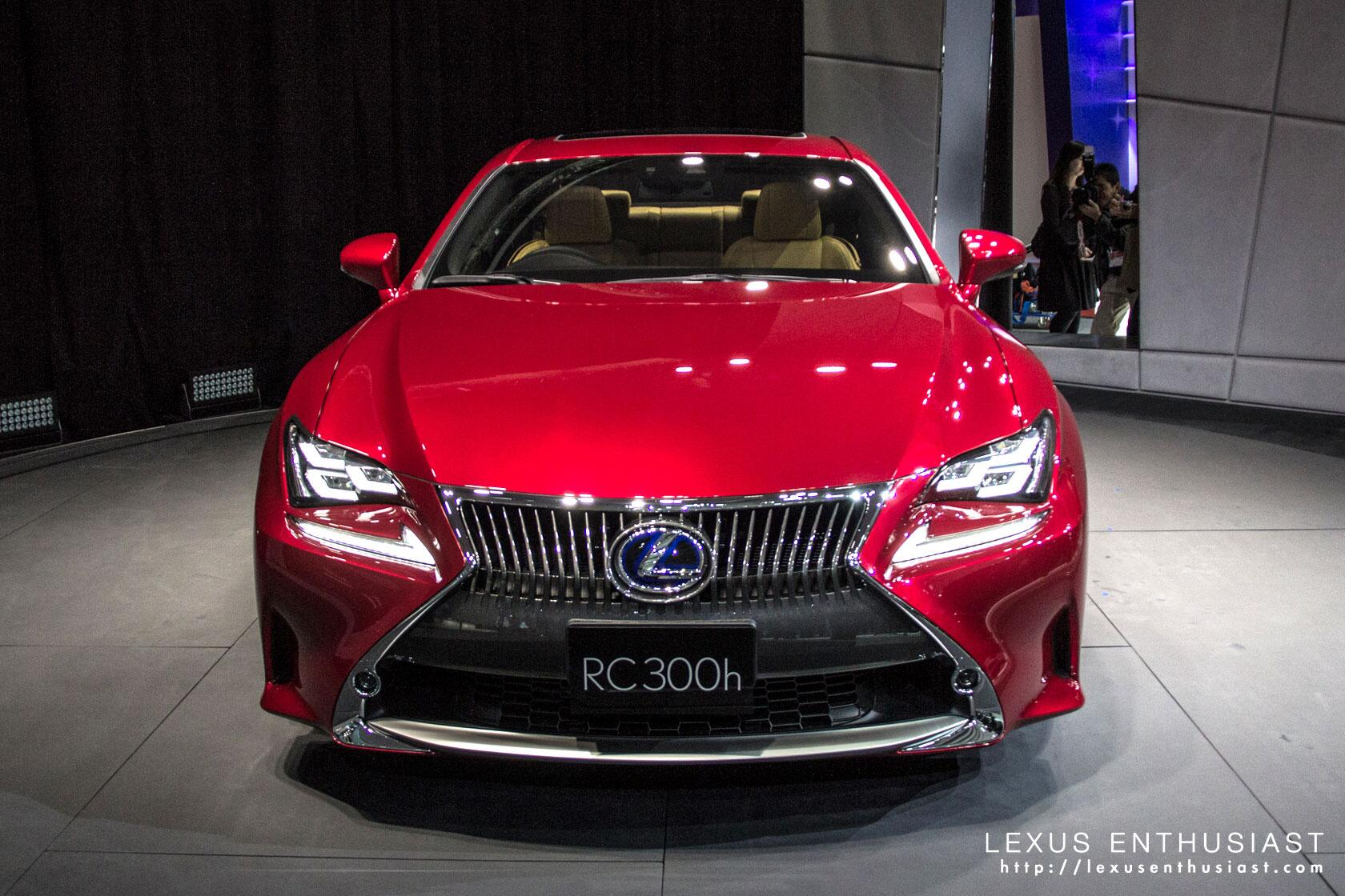 7 05pm can t even get close to the rc absolute for Tokyo motor show lexus