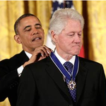 President Obama awards Presidential Medal of Freedom to 16, including @billclinton & @Oprah http://t.co/NtwpnI1ajk http://t.co/dsKKfGHsca