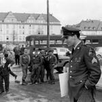 Sgt. Elvis Presley prepares to leave Germany, March 1960. http://t.co/3f3qDjsGdi