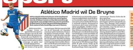 BZkugfUCQAE9WFW Atletico Madrid are determined to sign Kevin De Bruyne from Chelsea, player has doubts [Het Laatste Nieuws]