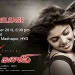 Love you Bangaram on 24th Sunday at Fair Park,Hitex,All invited pls for passes call my bro Chaitanya +918885458003