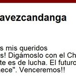 Palabras del Comandante Supremo de la Revolucion @chavezcandanga @YAHIRPSUV #EstudiantesconlaRevolucion http://t.co/9uXCYqDSMp