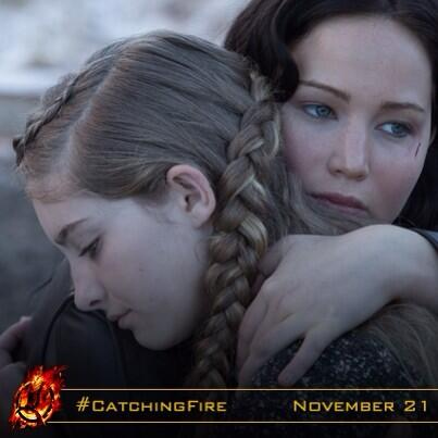 """""""Since the last games, something's different. I can see it.""""...""""What can you see…?""""  #CatchingFire, in cinemas NOW! http://t.co/JjxgbbIXnc"""