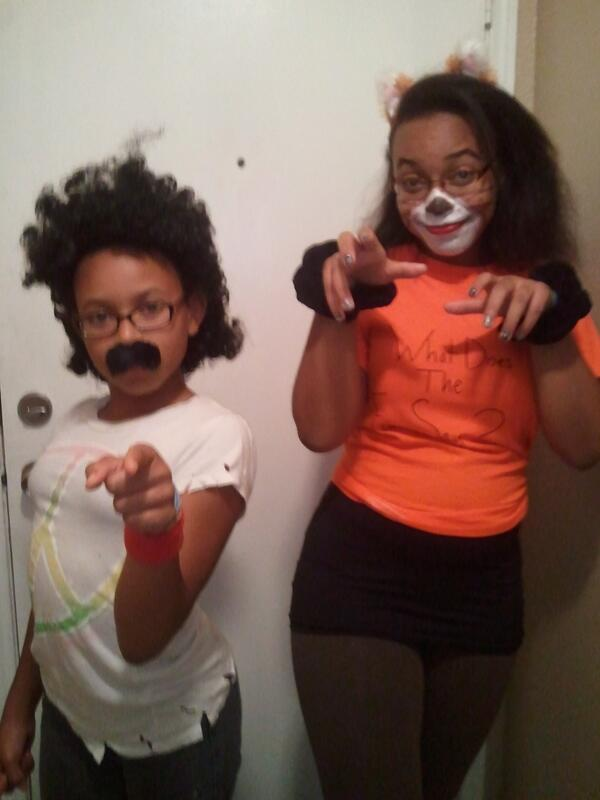 Brandee ♐ (@Dangerdoll): @BlackGirlNerds My youngest was inspired by John Oates this Halloween.Had music playing and all! LOL http://t.co/CqBzqp8N7n