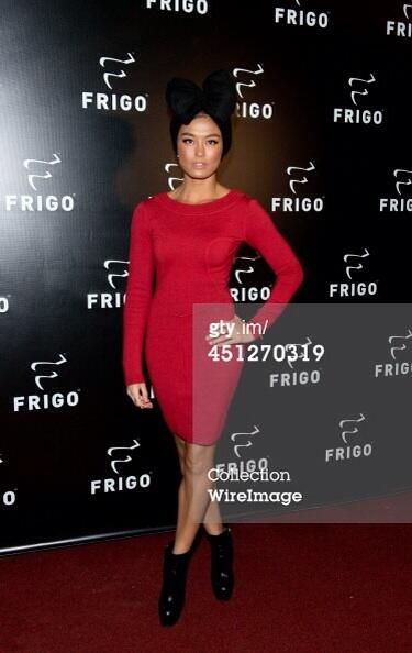 #AgnezMoCokeBottle (@NICofficial): AGNEZ MO attends the launch party of @FRIGO_RW in New York #AGNEZMOatFrigo (1) @agnezmo http://t.co/TYY5s4jSac