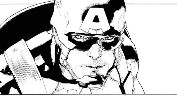 another Avengers 23 lineart panel!  Out now:) http://t.co/lXdDgZkVBg