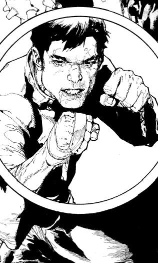 Shang-Chi lineart. http://t.co/9i5MeIqe1r