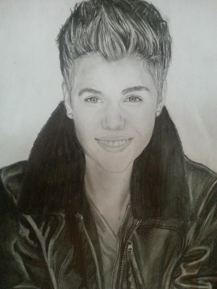 My drawing of Justin Bieber :) http://t.co/RVeZFK3818