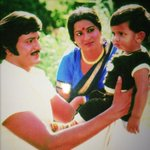 Who is this baby? @themohanbabu @realradikaa @HeroManoj1 RT