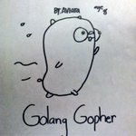 My daughter drew this for me when she asked what I would like for her to draw.  #golang http://t.co/UDDw42SkNW