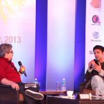 Great fun session with @FarOutAkhtar at #NFDCFilmBazaar. From DCH to BMB, a journey with the man who wears many hats