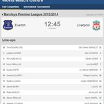 LIVE: Have you seen our new-look World Match Centre? Follow @Everton-@LFC & more right here - http://t.co/NVrxYXBVrW