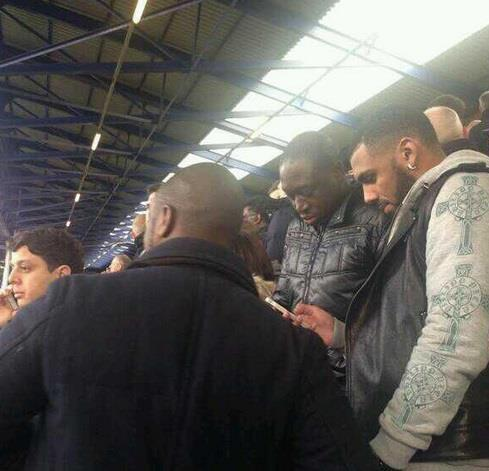 BZxIF JCAAAn3pm Anfield Bound? French international Yann MVila sat with Liverpool fans at Goodison Park on Saturday [Pictures]