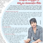 "From the heart :) ""@MelanieWF: Interview with @sundeepkishan in Sakshi Epaper from 24th Nov http://t.co/nzjqCHekWm"""