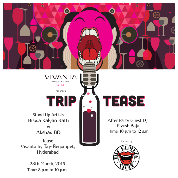 This 28th there's no room for giggles, only long belly laughs allowed at Tease #Hyderabad.  http://t.co/9pttZbtRIg http://t.co/ygN6mCsCCK