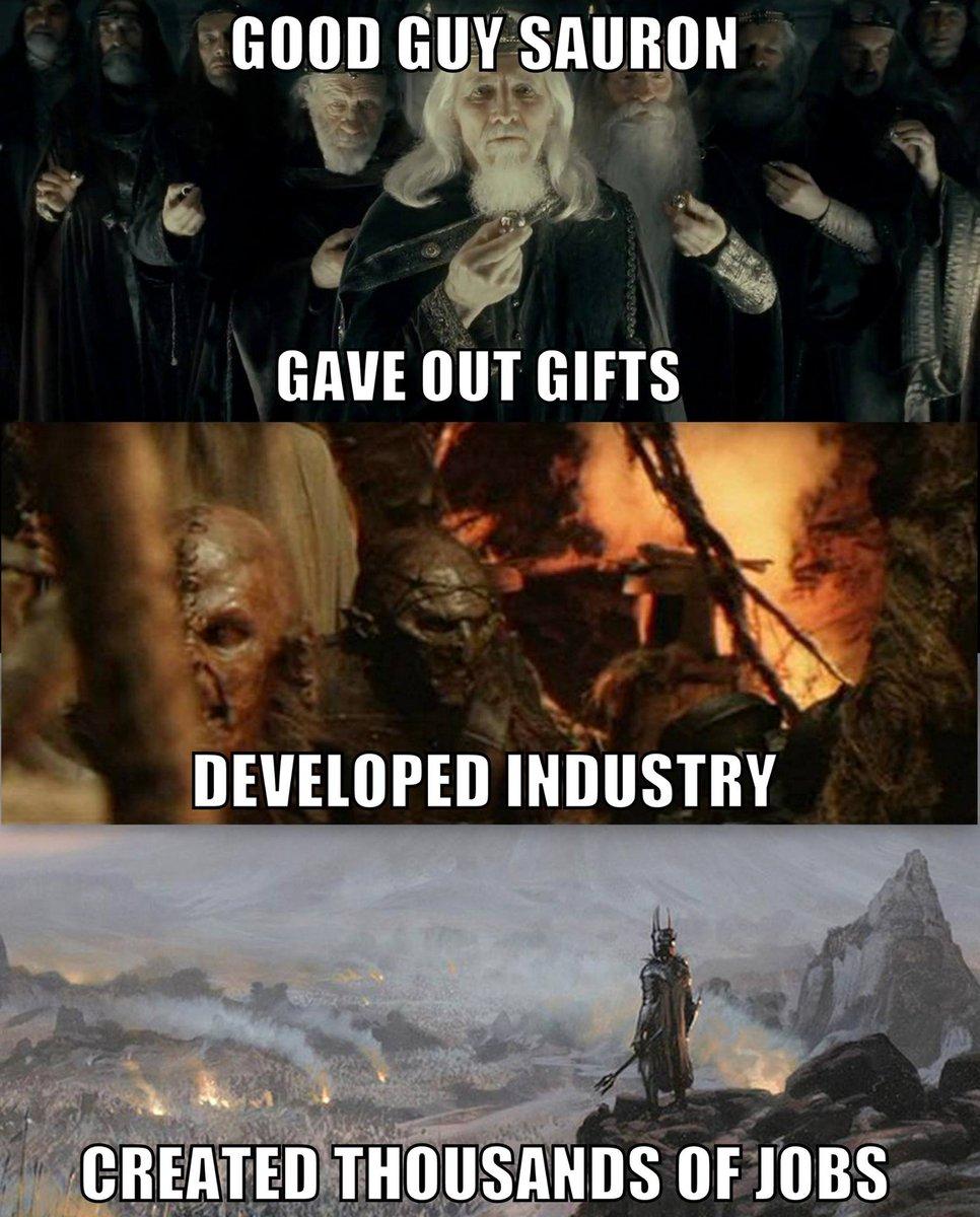 Good Guy Sauron: http://t.co/AnTZjumPwF