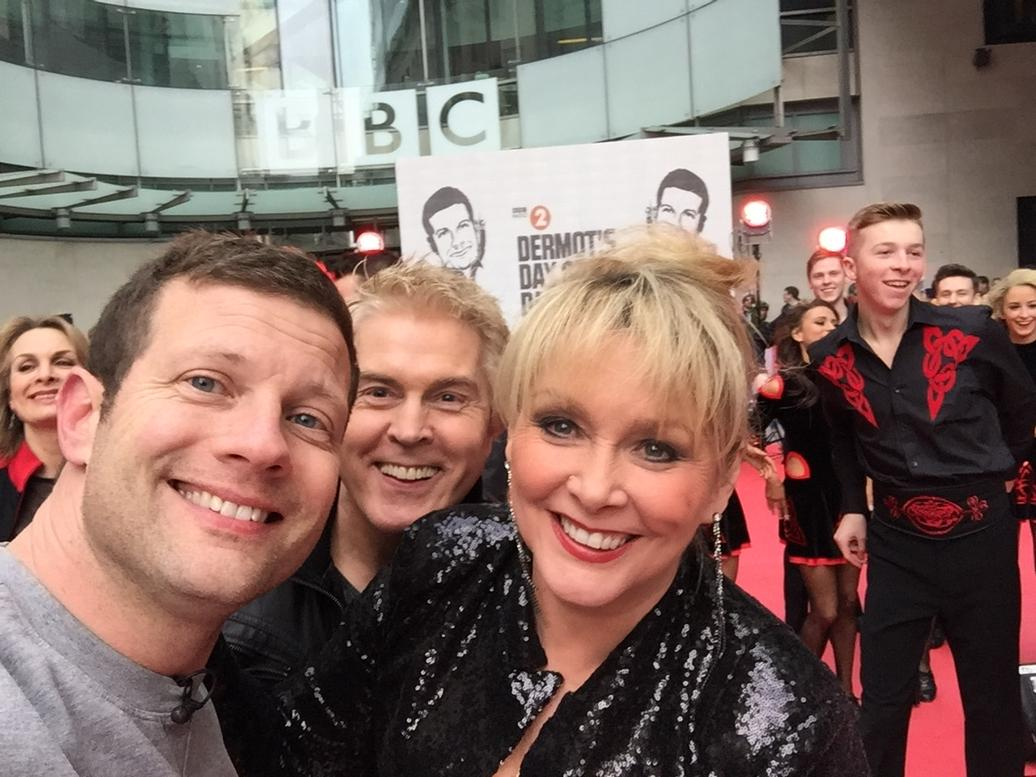 Dancing with Dermot! @rednoseday @radioleary @CherylMikeJay http://t.co/OAKtadIczy