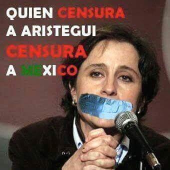 Censura ante el la evidente incapacidad #EndefensadeAristegui http://t.co/aIBrwuG4n8
