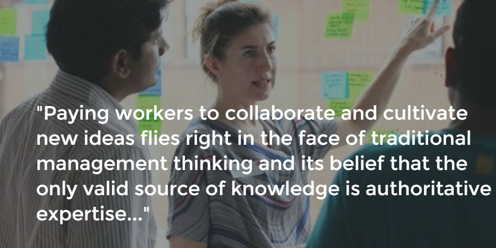 The Collapse of Expertise & Rise of Collaborative Sensemaking #futureofwork #NewWayToWork  http://t.co/jZ063caAyn  http://t.co/HfC4tqGLXn