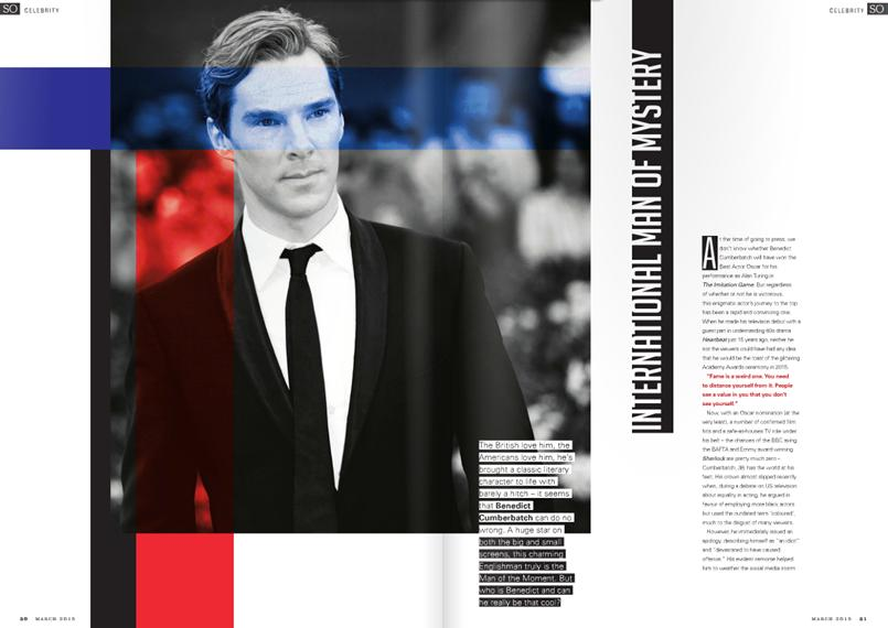 The international man of mystery! Read our exclusive with Benedict Cumberbatch: http://t.co/n0Ue3LcTql http://t.co/V0ZZCO6d0t
