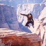 Varun Dhawan's stunts for #ABCD2 at Grand Canyon, USA. Check out the pics... http://t.co/UTZNrPk2xf