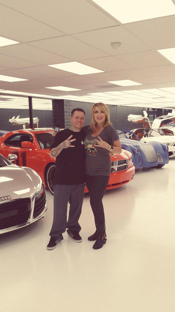 "Showing the ""W""@officialwcc with THE man @SelfMadeRyan. New 60,000 square ft. headquarters. #Burbank http://t.co/x02R6PCoje"