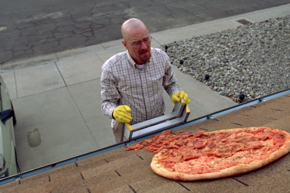 Vince Gilligan Urges 'Breaking Bad' Fans to Stop Throwing Pizzas on Walter White's Roof