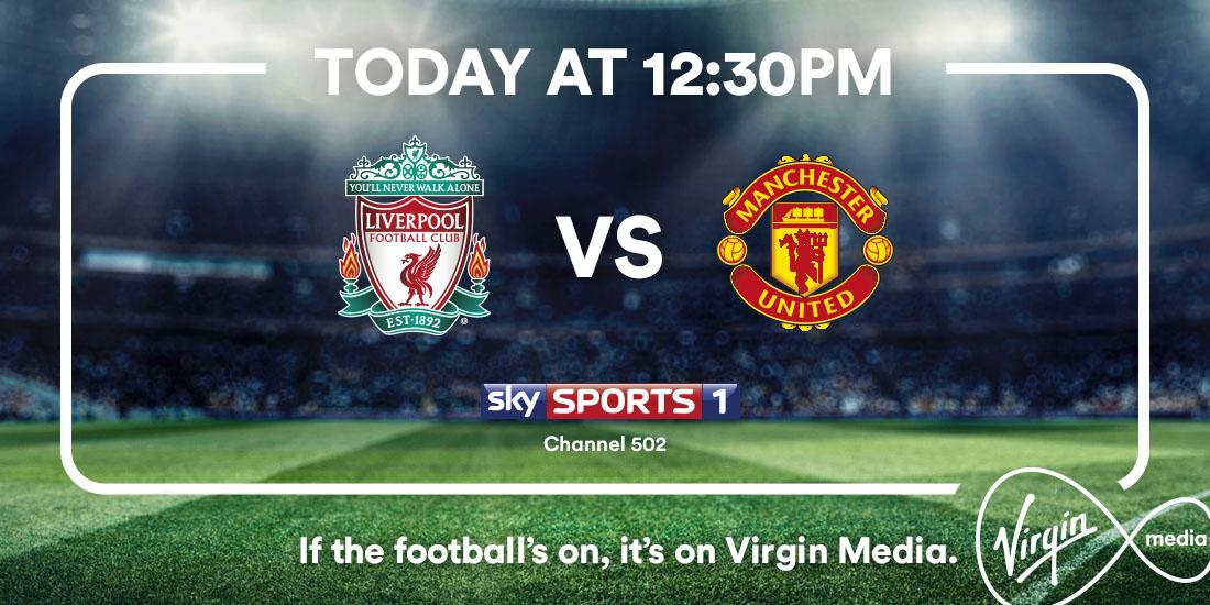 The Top 4 fight's getting tasty. @LFC v @ManUtd is on, so it's on Virgin Media http://t.co/fzm6V027Bs