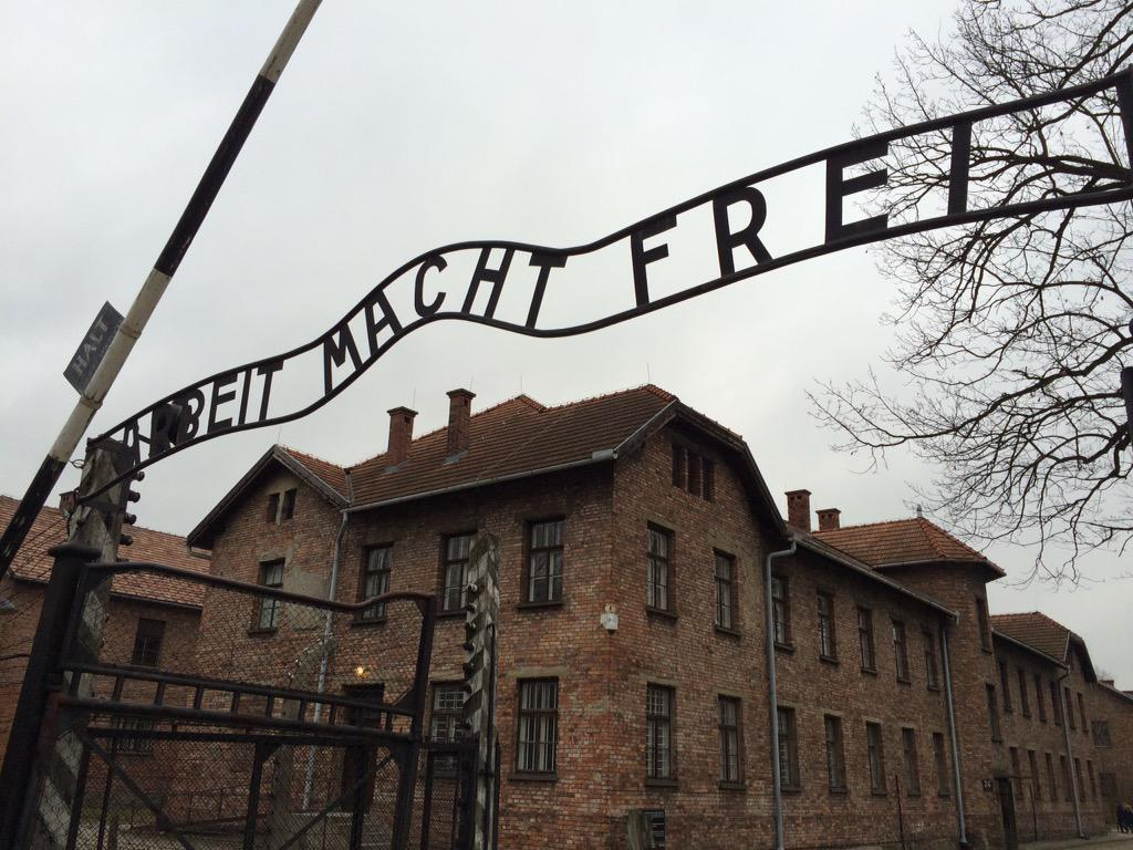 Sobering and harrowing day at Auschwitz today. Hard to get your head around it. Absolutely worth a visit however. http://t.co/fINJ4Hxms2